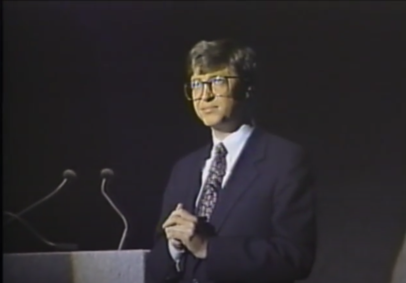 Bill Gates Comdex 1987